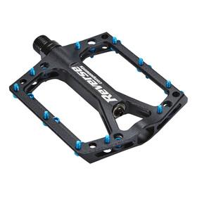 Reverse Black ONE Pedal schwarz/hellblau